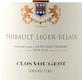 Domaine Thibault Liger-Belair Clos de Vougeot Grand Cru  - label