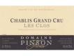 Domaine Pinson Frères Chablis Grand Cru Les Clos - label