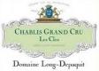 Domaine Long-Depaquit Chablis Grand Cru Les Clos - label