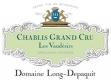 Domaine Long-Depaquit Chablis Grand Cru Vaudésir - label