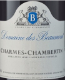 Domaine des Beaumont Charmes-Chambertin Grand Cru  - label