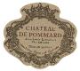 Château de Pommard Clos Marey-Monge - label