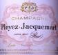Ployez-Jacquemart Extra Brut Rosé - label