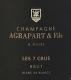 Agrapart et Fils Les 7 Crus - label