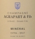 Agrapart et Fils Mineral Blanc de Blancs Extra-Brut Grand Cru - label