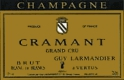 Guy Larmandier Blanc de Blancs Brut Cramant Grand Cru - label