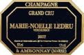 Marie Noëlle Ledru Brut Grand Cru - label