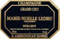 Marie Noëlle Ledru Extra Brut Grand Cru - label