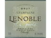 A. R. Lenoble L'Epurée Blanc de Blancs Grand Cru - label