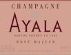 Ayala Rosé Majeur - label