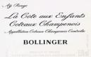 Bollinger La Côte aux Enfants - label