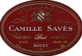 Camille Savès Brut Rosé Grand Cru - label