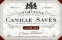 Camille Savès Brut Carte Blanche - label