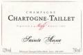 Chartogne-Taillet Cuvée Sainte-Anne - label