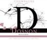 Dosnon & Lepage Récolte Rosé - label
