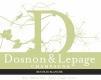 Dosnon & Lepage Récolte Blanche - label