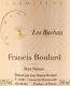 Francis Boulard Les Rachais Brut Nature - label