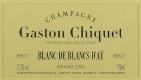 Gaston Chiquet Blanc de Blancs d'Aÿ - label