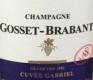 Gosset-Brabant Cuvée Gabriel Grand Cru - label