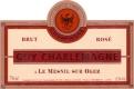 Guy Charlemagne Rosé Brut - label