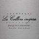 Jacques Lassaigne Colline Inspirée Extra Brut Blanc de Blancs - label