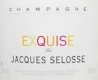 Jacques Selosse Cuvée Exquise Sec - label