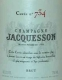 Jacquesson Cuvée No.734 - label