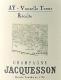Jacquesson Vauzelle Terme Aÿ - label