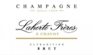 Laherte Brut Ultradition - label