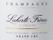 Laherte Blanc de Blancs Brut Nature Grand Cru - label