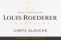 Louis Roederer Carte Blanche Sec - label