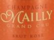 Mailly Brut Rosé Grand Cru - label