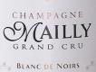 Mailly Blanc de Noirs Grand Cru - label
