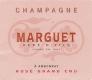 Marguet Père et Fils Brut Rosé Grand Cru - label