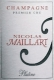 Nicolas Maillart Brut Platine Premier Cru - label