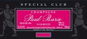 Paul Bara Spécial Club Rosé Grand Cru - label