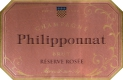 Philipponnat Royal Réserve Rosé (formerly Réserve Rosée) - label