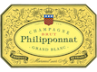 Philipponnat Grand Blanc - label