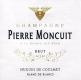 Pierre Moncuit Cuvée Hugues de Coulmet Blanc de Blancs - label