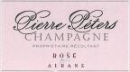 Pierre Péters Rosé for Albane - label