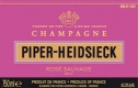 Piper-Heidsieck Brut Rosé Sauvage - label