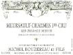 Michel Bouzereau et Fils Meursault Premier Cru Les Charmes-Dessus - label