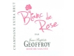 René Geoffroy Blanc de Rose - label