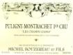 Michel Bouzereau et Fils Puligny-Montrachet Premier Cru Champ Gain - label