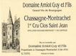 Domaine Guy Amiot et Fils Chassagne-Montrachet Premier Cru Clos Saint-Jean - label