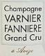 Varnier Fannière Brut Grand Cru - label