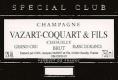 Vazart-Coquart et Fils Spécial Club Blanc de Blancs Millésimé Grand Cru - label
