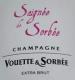 Vouette et Sorbée Cuvée Rosé Saignée de Sorbée - label