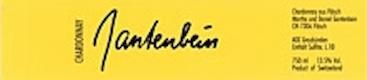 Gantenbein Chardonnay - label