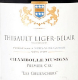 Domaine Thibault Liger-Belair Chambolle-Musigny Premier Cru Les Gruenchers - label